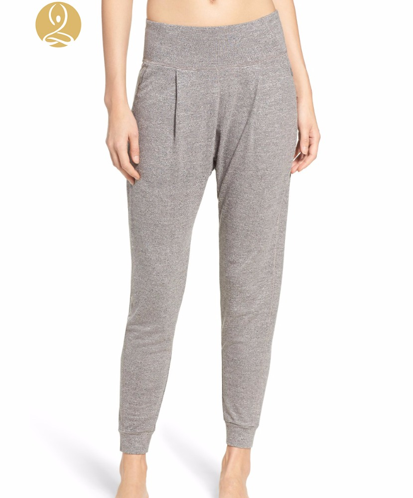 2017 Popular Design Slouchy Harmen Thermal Pants Women Harem Trousers