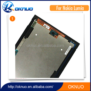1920x1080 Resolution Tablet Parts For Nokia Lumia 2520 Lcd Touch Digitizer