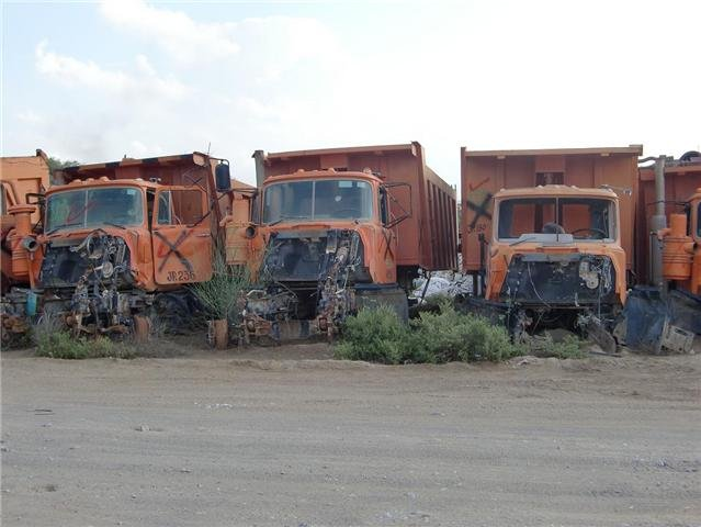 Scrap vehicles & oil pipes