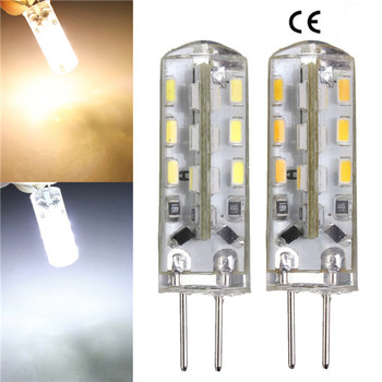 AC12V 1.5W 3W 24LED 3014 chip led bulbs g4