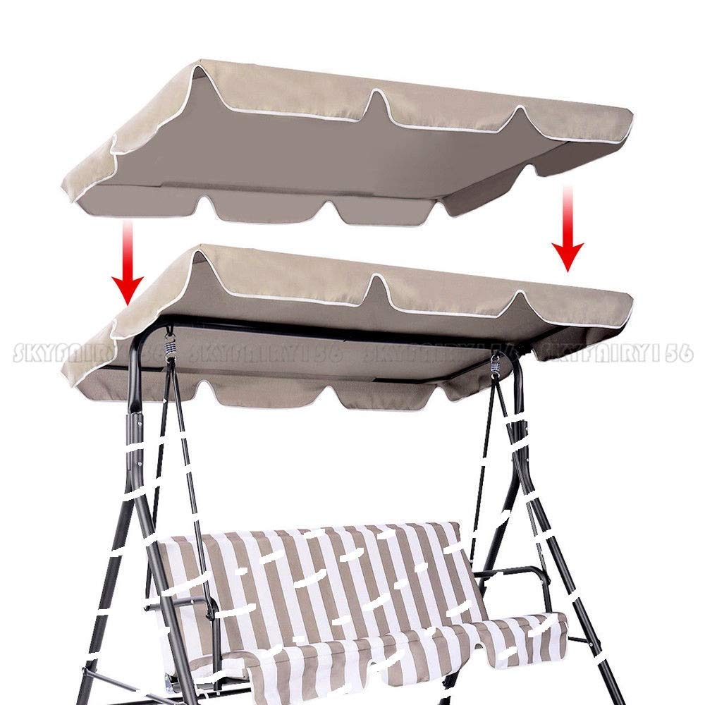 Get Quotations Thaisan7 Swing Top Seat Cover Canopy Replacement Porch Patio Outdoor 75 L X 52