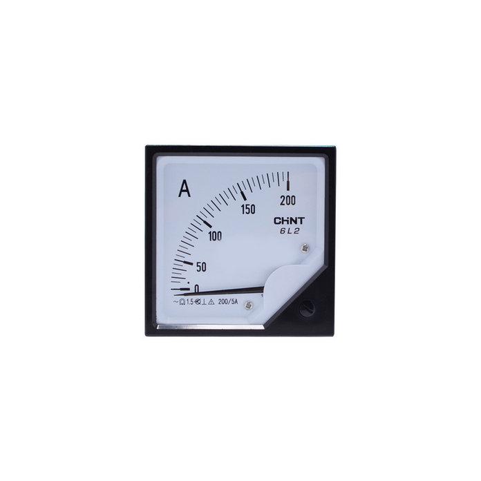 Chint 150/5 200/5 500/5A 6L2 square analog ammeter