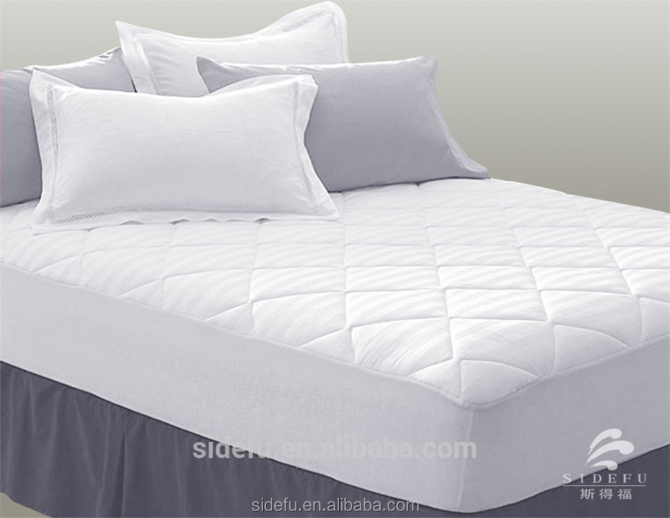 White Quilted King Size Hotel Waterproof Mattress Protector Buy