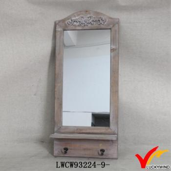 Vintage Handmade Antique French Style Wall Mirror With Shelf Buy