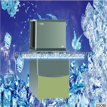 400kg cube ice making machine with CE certification stainless steel 304