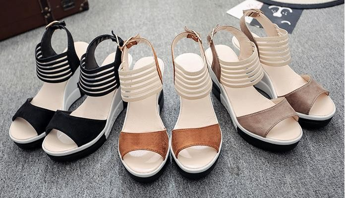 28df2284b111 Or20072a Summer New Arrivals Wedge Sandals Shoes 2018 Platform New ...