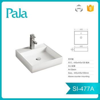 2016 China Cheap Price Sanitary Ware Bathroom Art Basin