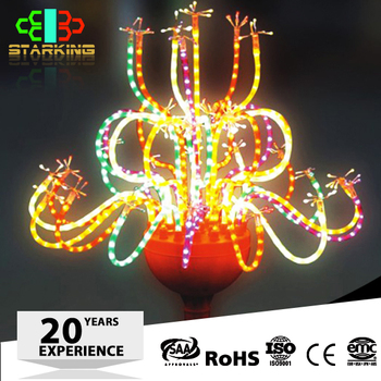 Strong R&d Customized Hotel Beautiful Led Firework Lights