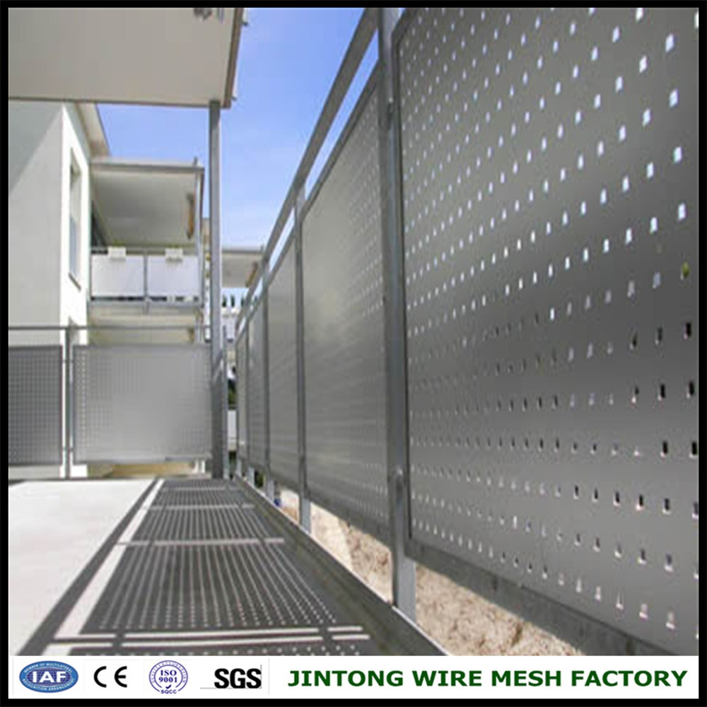 perforated sheet balconies perforated sheetbalustrades