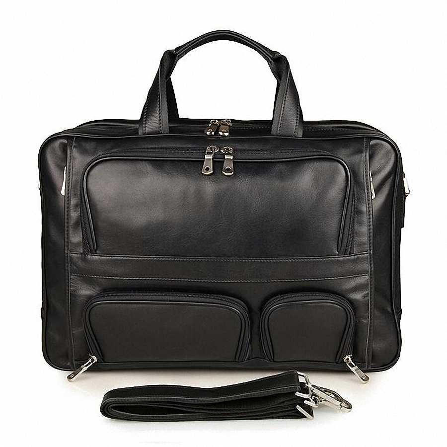 Online Buy Wholesale 17 inch leather laptop bag from China ...