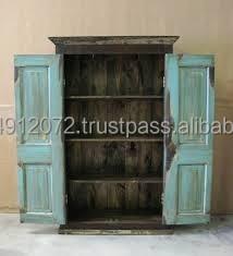 Reclaimed Wood Wardrobe Buy Antique Solid Wood Armoire Wardrobe