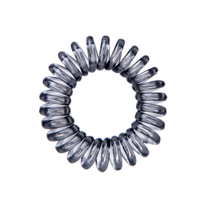 TPU Traceless Coiled Hair Ring Elastic Curly Telephone Wire Hair Tie