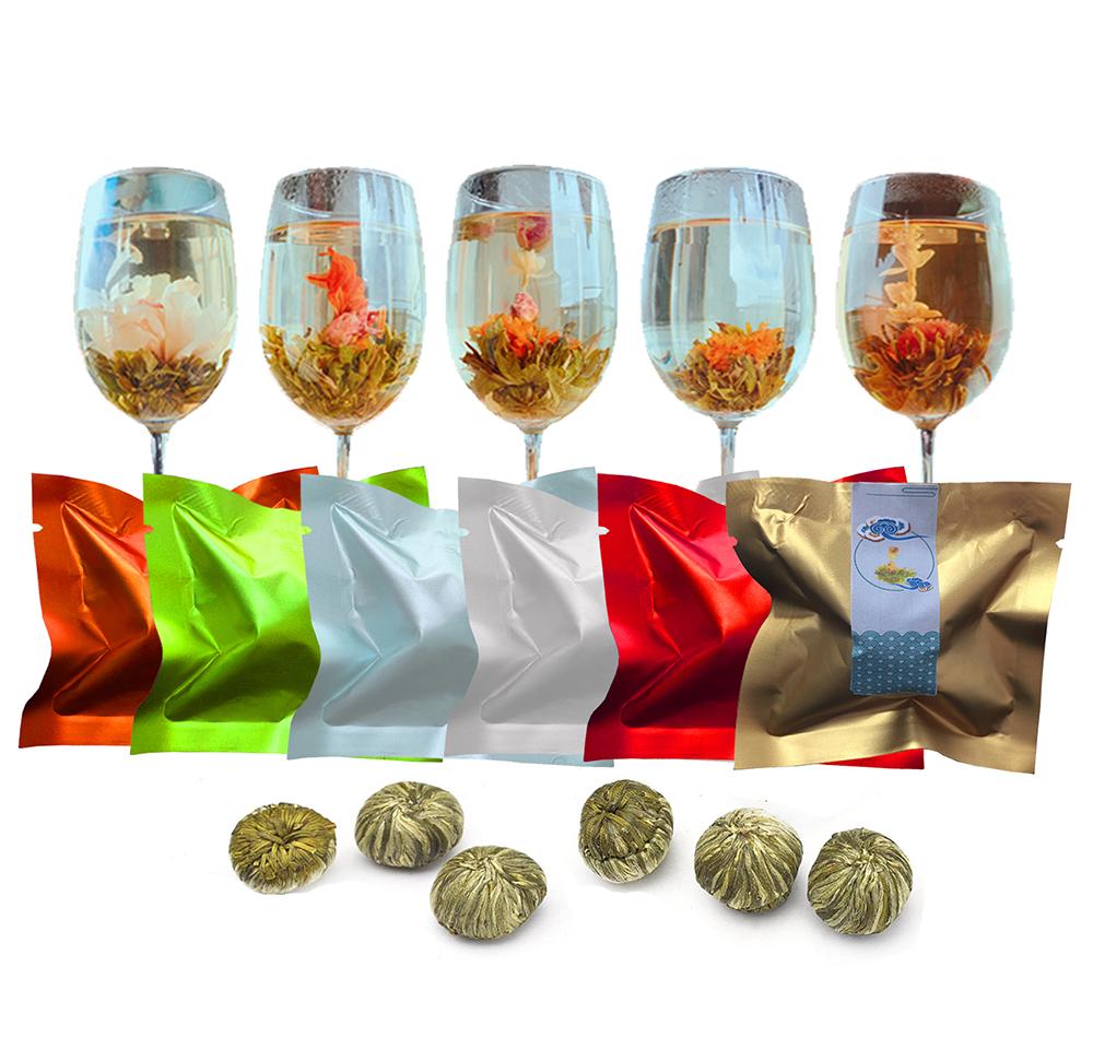Eu Standard Organic Blooming Flower Tea/Health Chinese Green Tea Flavored Flowering Blooming Tea - 4uTea | 4uTea.com