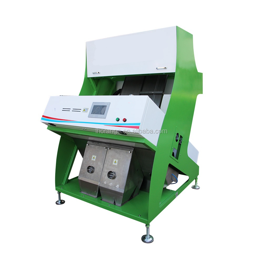 Unique seeds color sorting machine / long grain parboiled rice color sorter / used rice color sorter machine