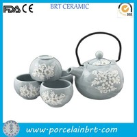 Customized special porcelain Japanese Tea Set