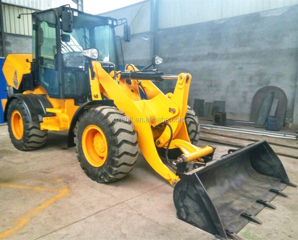 chinese ZL08 mini wheel loader with quick hitch