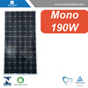 190w solar led modules with A grade solar cells for solar street lighting system