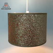 wholesale cheap cover fabric foil lamp shade for lamp parts