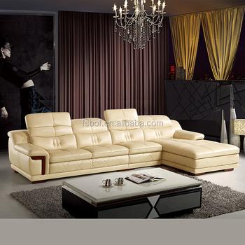 Home Furniture Modern Style Luxury Set Design Low Price Sofa Genuine Leather
