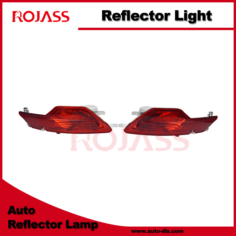 X6 E71 car repair parts reflex function auto rear bumper reflector lamp left side reflector light