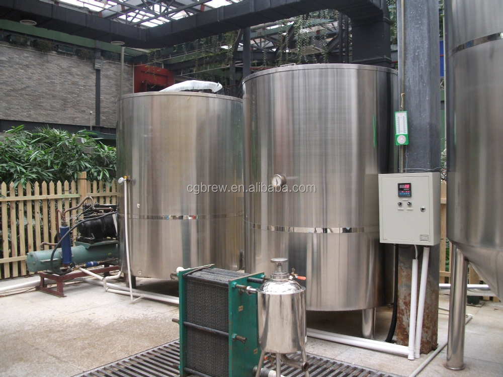 ice water tank and cold water tank