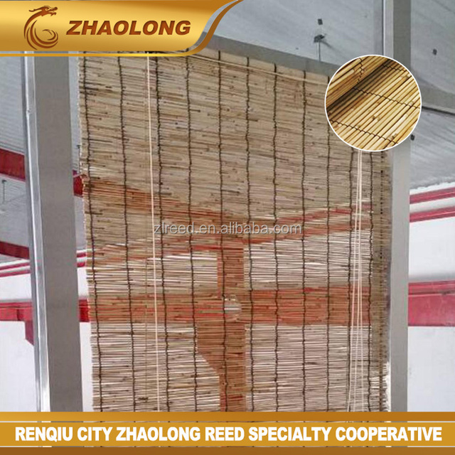 Natural Peeled Reed Screening Roll Garden Screen Fence Fencing Panel 4m 1m  x