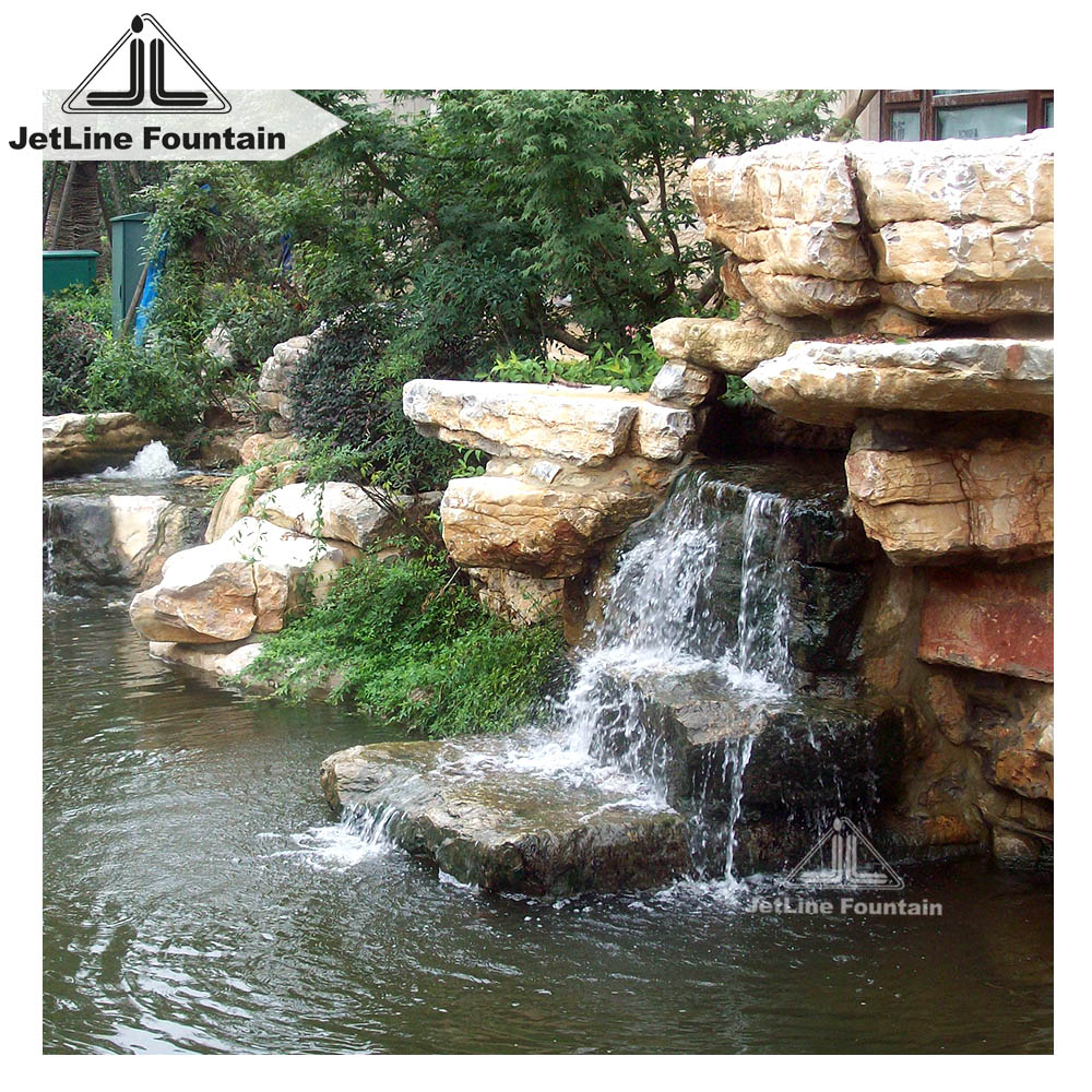 Small Garden Waterfall Fountain