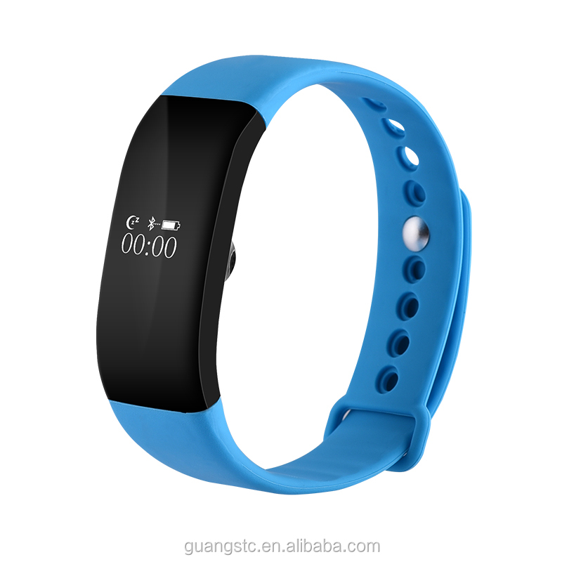 V66 Smart Wristwatch Bluetooth 4.0 Smartband Heart Rate Sensor Sleep Monitor Smart Bracelet IP68 Waterproof Smartband