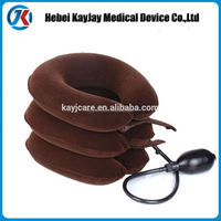 High quality air neck shoulder pain full-flannel cervical traction headache back neck device system
