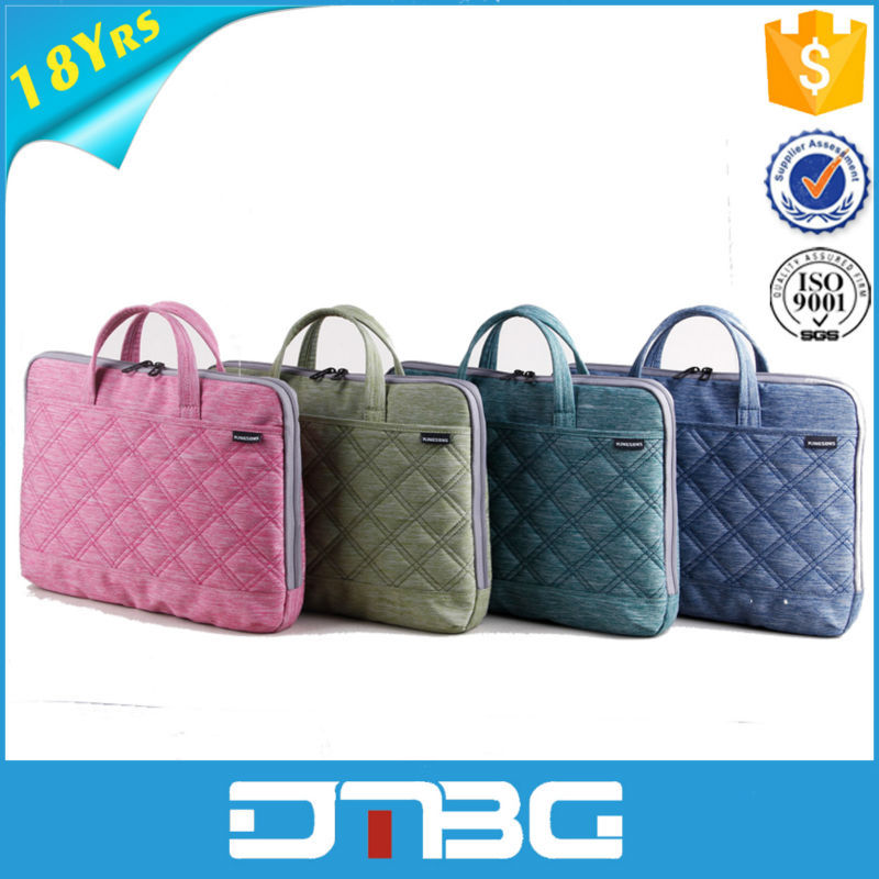 Nylon Colorful Women Hand Bags For Chromebook Bag