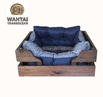 Extra Large Rustic Cedar Dog Bed Wooden Pet Crate Frame Unique Frames Pine Wood Flat Product On Alibaba