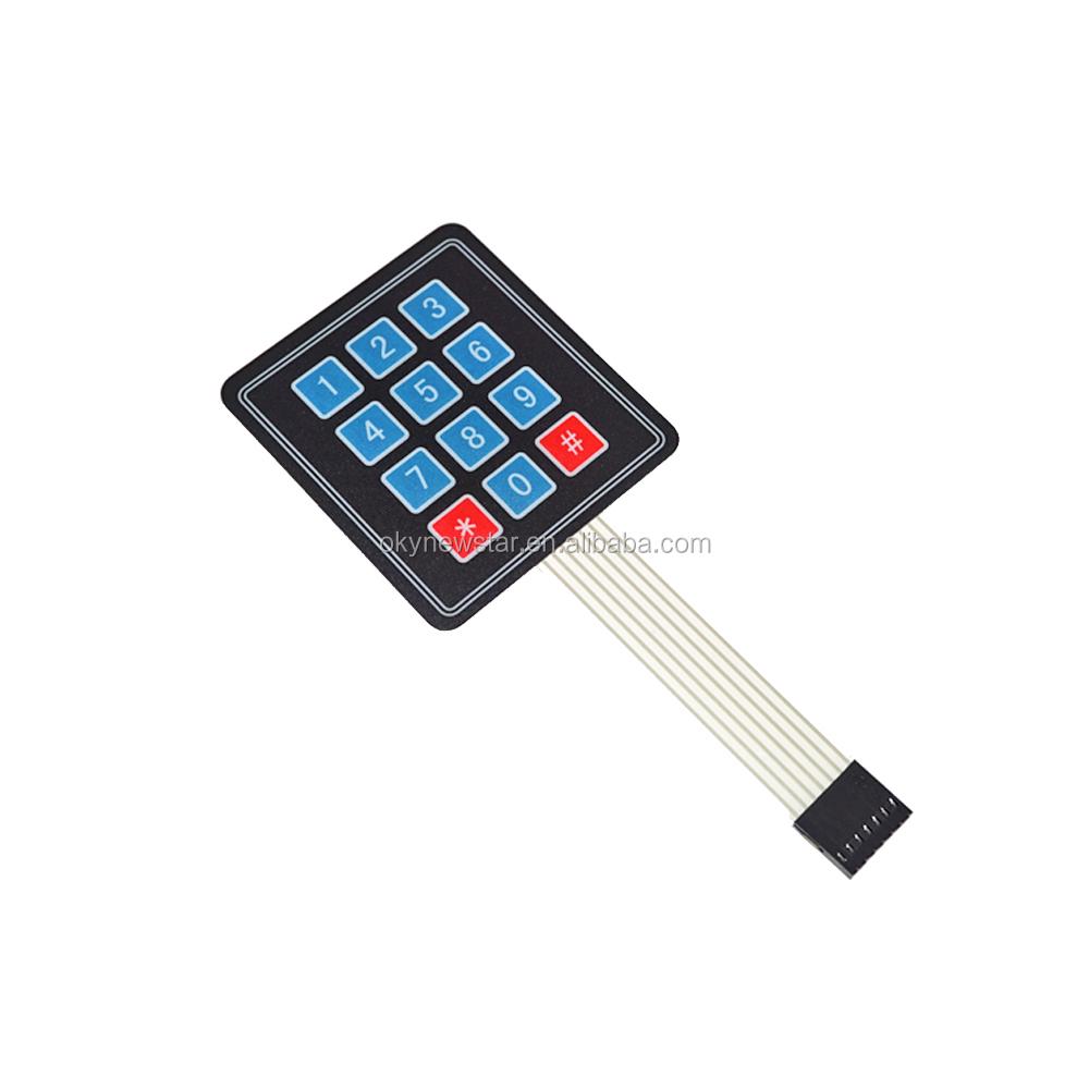 4x4 4x5+LED Matrix Array Keyboard Key Switch Keypad Button f Arduino AVR 2x4