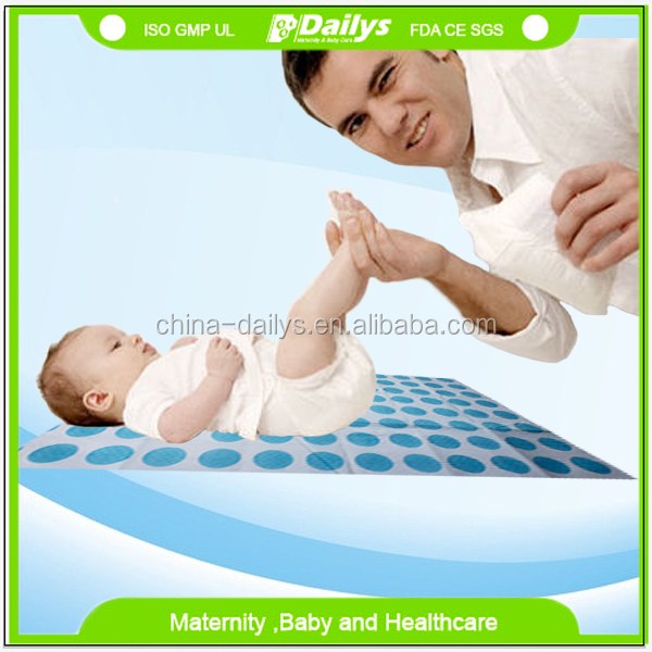 Absorbent waterproof disposable diaper changing pad for baby infant
