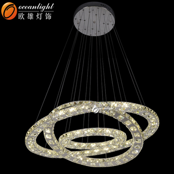Pendentif Lampe Suspension En Om88013 Lumineuse Led 3 Cristal suspension suspension Cercles Cercles Lumineux Buy LzVGSpUjqM