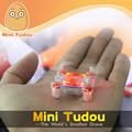 Minitudou Remote Control Toys RC Helicopter Pocket Drone 2 4G 4CH Quadcopter Micro
