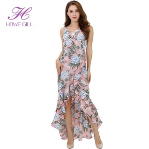 76829033d6f2 sexi dresses. Fashion Elegant Floral Sexy Asymmetrical Tight Woman Dress