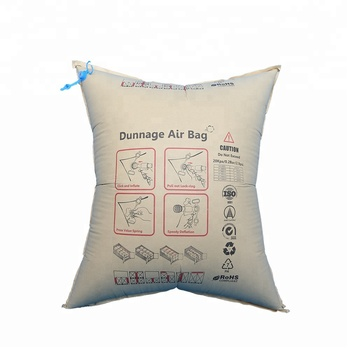 Best selling  full range of sizes kraft paper dunnage air bag with brown color