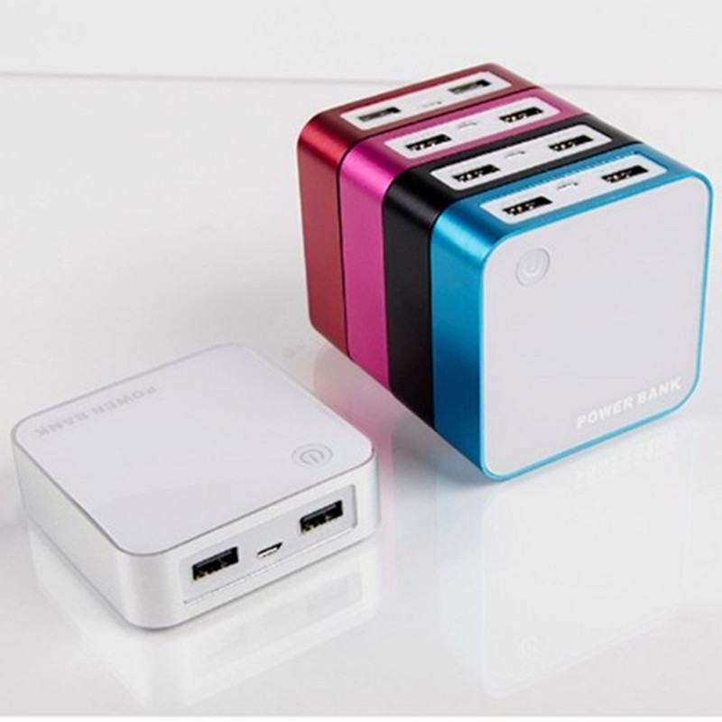 Universal 7800 MAh Dual USB Portable Power Bank untuk Barang Digital