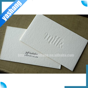 Embossed name card custom thick business card printing buy thick embossed name card custom thick business card printing colourmoves
