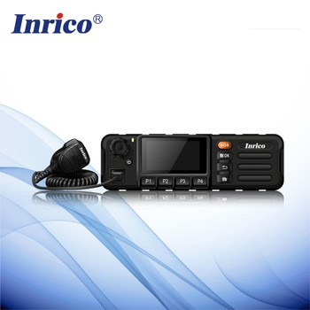 Inrico Touch Screen Gsm Wcdma 3g Network Ptt Mobile Car Radio With