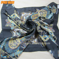 custom printed silk scarfs made in india