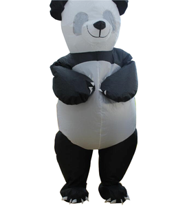 Cheap Factory Direct Sale Good Quality Adult Inflatable Polyester Panda Costume