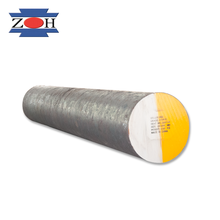 SAE1045+Cr (min.460mm) carbon steel round bar , hot forged steels in rough turned surface