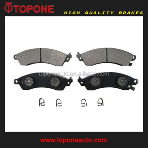 Ceramic Brake Pad Wholesaler For CHEVROLET CAMARO For CHEVROLET CORVETTE For FORD USA MUSTANG F4ZZ2001B 10104485 D412