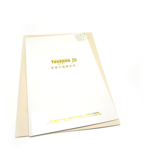 Professional printing company custom high quality glossy paper folder flyer / brochure / booklet / catalogue printing