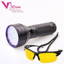 395 nm LED UV Flashlight Blacklight Scorpion 51 LED Ultra Violet Flashlight