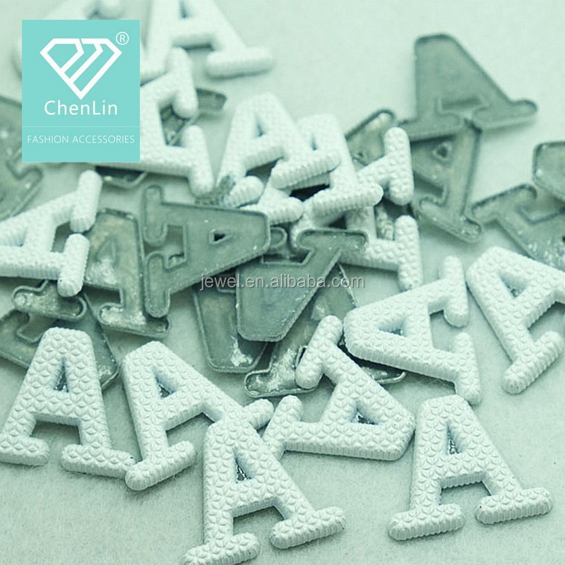 Letter A Hot Fix Dome Studs Fashion Metal Nailhead Iron On Copper Stud