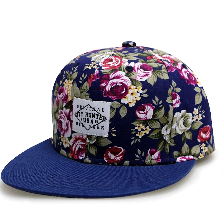 Get Quotations · City Hunter Cf2071 Rose Garden Snapback Hats - 2 Colors a69fdd507260