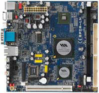 VIA Mini-ITX Board Epia LN10000.Fanless. Support DDR2 1G,VGA,PCI,8USB,SPDIF.For Thin Client and NC Application.