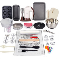 2019 Complete Cake Baking Set Bakery Tools for Beginner Adults Baking sheets bakeware sets baking tools